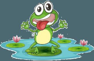 sad frog image